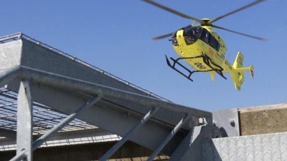 Falece un motorista tras sufrir un accidente en Cangas