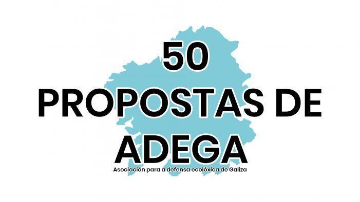 50 propostas de ADEGA para uns concellos máis sustentábeis