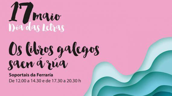 Os libros galegos saen á rúa o 17 de Maio