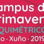 Fai dous dias deu inicio o Campus de Primavera Alquimétricos_Maio·Xuño·2019.