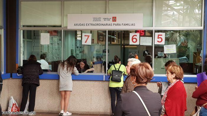 O Concello de Vigo gasta cada vez menos en axudas de emerxencias sociais
