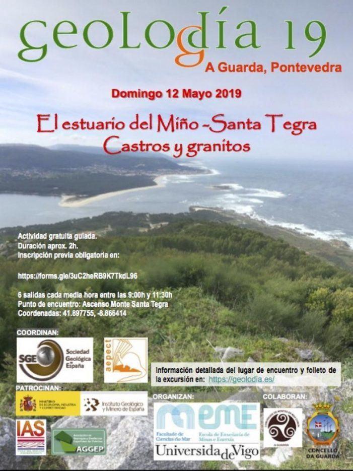 O Geolodía19 explorará este ano o estuario do Miño–Santa Trega