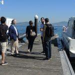 O campus recibe a visita de expertos que participan no congreso da Unesco sobre planificación marítima