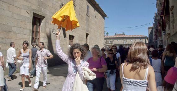 A Xunta abre unha liña específica para os guías turísticos a través do seu novo plan de teleformación gratuíta