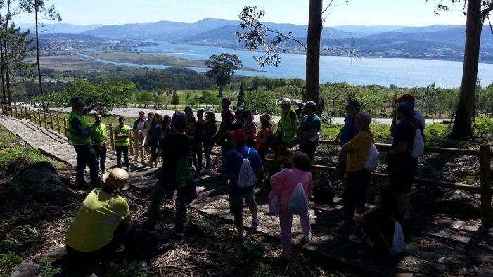 Preto de 150 persoas participaron en Santa Trega no Geolodía 19