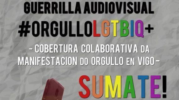 Hoxe habera unha xuntanza para pedir cobertura colaborativa #ORGULLOLGTBIQ+Vigo
