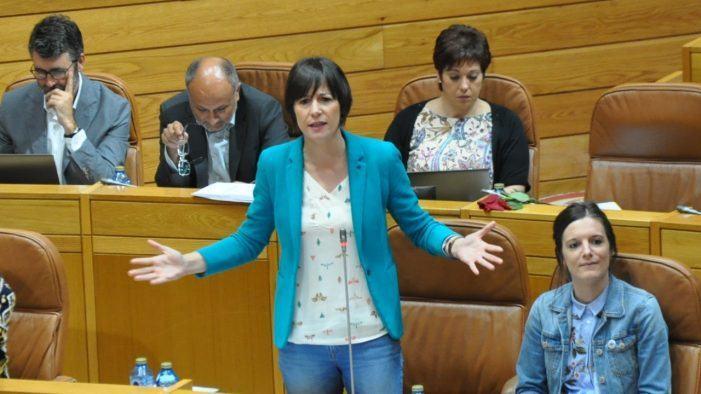 """Ana Pontón a Feixóo: """"Galiza non merece un presidente sen palabra que di unha cousa e fai a contraria"""""""