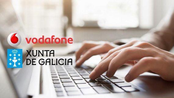 A Xunta e Vodafone poñen en marcha o programa de reforzo das competencias dixitais, 'Digicraft no teu cole'