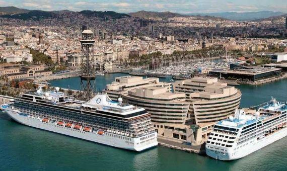 España encabeza a lista de países máis contaminados por cruceiros de Europa