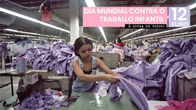 Hoxe é o día mundial contra o traballo infantil
