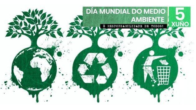 Hoxe 5 de xuño é o Día mundial do medio ambiente