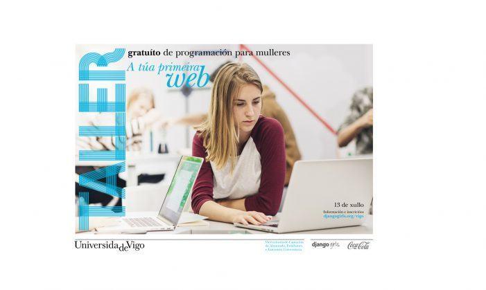 A Vicerreitoría de Estudantes lanza un obradoiro gratuíto de programación web para mulleres