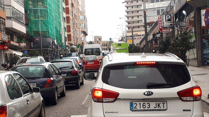 Vigo mellorou o tráfico no 2020 e elevou a boa calidade da circulación ao 92,5% dos itinerarios