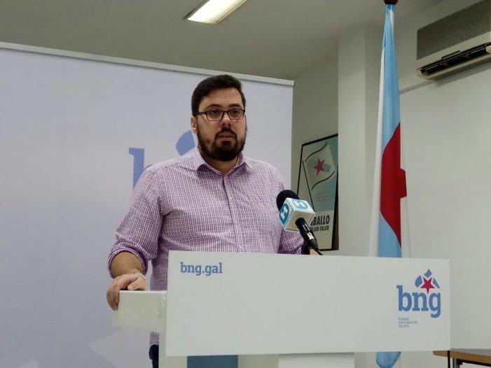 """Xabier P. Igrexas: """"A verdadeira desconexión é a do Goberno municipal da situación de emerxencia laboral que se vive na cidade"""""""