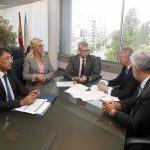 A Xunta e o Colexio de Procuradores de Vigo manteñen un encontro de traballo