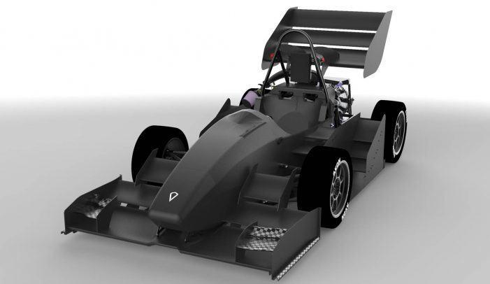 UVigo Motorsport amosa o UM19 tras case un ano de traballo