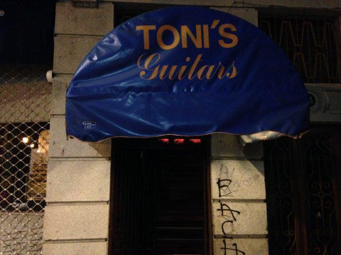 Opinión por Xurxo Rodríguez | Tony's, Vigo