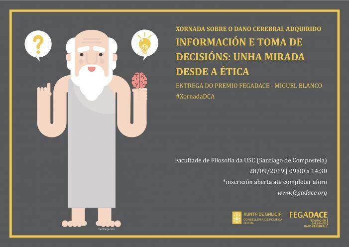 FEGADACE dedica a Xornada sobre o Dano Cerebral Adquirido a Información e toma de decisións: unha mirada desde a ética