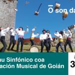 """Tomiño celebra este venres un novo concerto do Son da Praza, coa Agrupación Musical de Goián e o grupo de música tradicional """"Pelepau"""""""