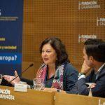 Cecilia Pereira destaca a importancia do Camiño de Santiago na construción da cultura e a sociedade europea