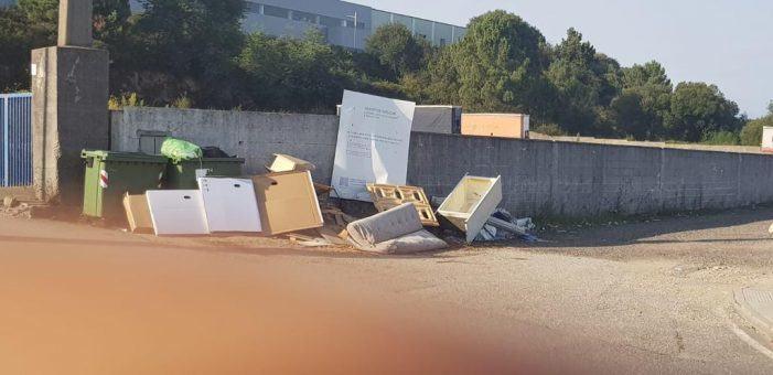 O Concello de Mos intensifica o control ante os verquidos incontrolados de residuos
