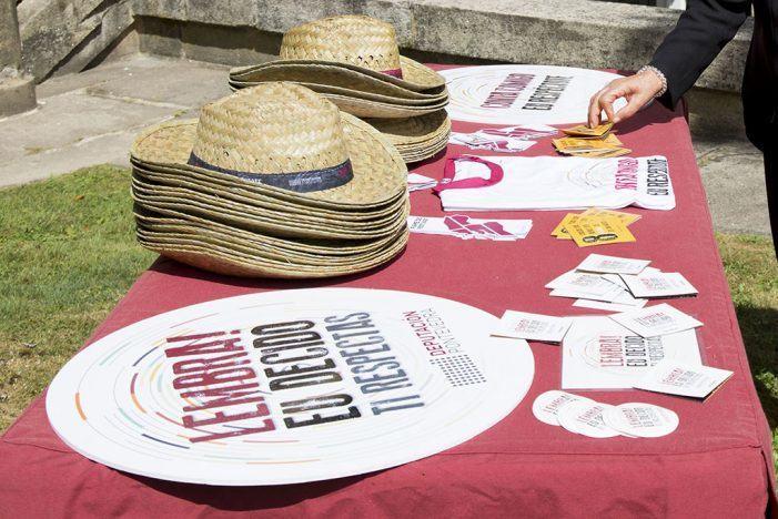A campaña de igualdade da Deputación estará nas festas patronais de Cuntis