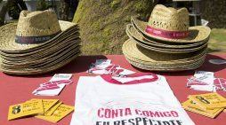 A Deputación de Pontevedra leva a súa campaña de igualdade ao Entroido de Verán de Redondela