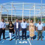 A Deputación ultima as obras das novas e modernas instalacións de atletismo no Porriño nas que inviste un millón de euros