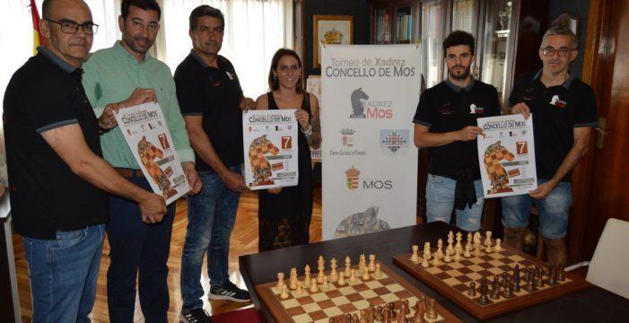O Torneo de Xadrez Concello de Mos chega á súa cuarta edición