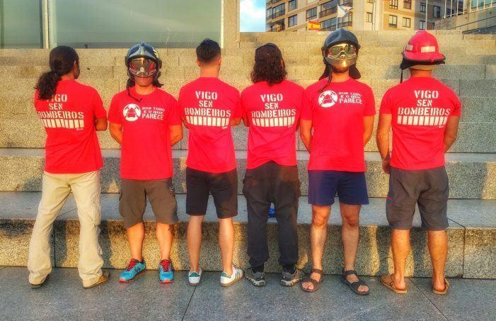 O TSXG declara firme a sentenza que anula os servizos mínimos impostos na folga dos bombeiros de Vigo