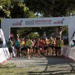 """Iria Campos e Ramón Troncoso lideran a clasificación xeral do """"DepoDesafío 2019"""" tras o trail de Cuntis e a falta do tríatlon de Vigo"""