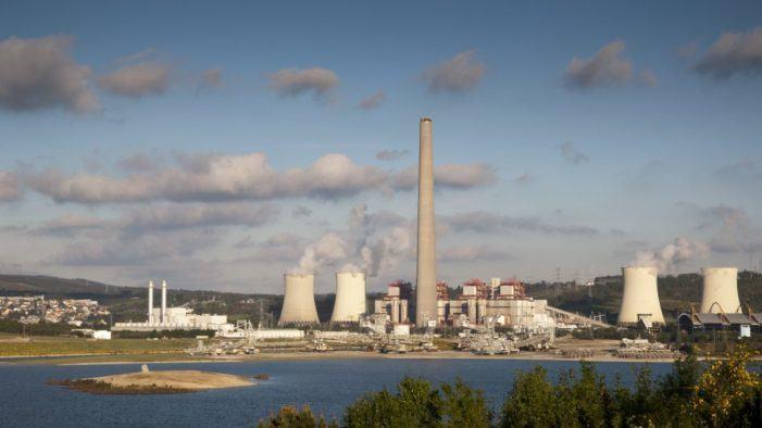 As emisións de CO2 das centrais de carbón galegas diminuíron o 75,2% en 2019