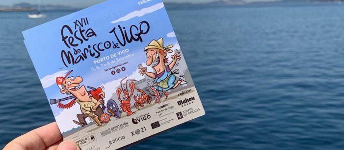 Vigo celebrará a XVII Festa do Marisco de Vigo os días 5, 6, 7 e 8 de Setembro