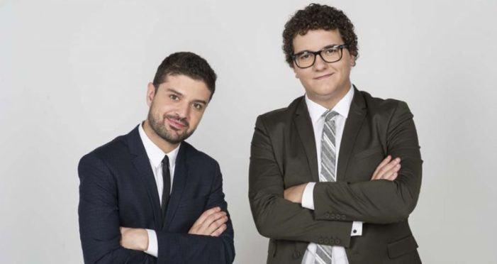Facu Díaz e Miguel Maldonado presenta El Nuevo Tour en Vigo