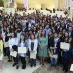 Carmen Pomar destaca o esforzo e a motivación dos 362 universitarios galardoados cos Premios de Excelencia Académica