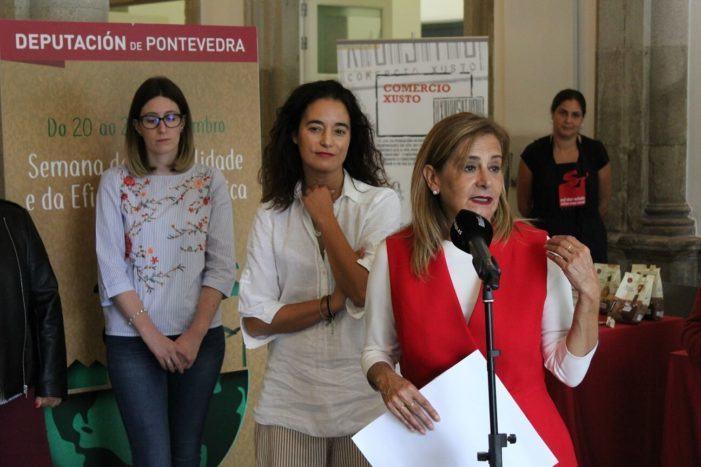 """Carmela Silva apela a """"outro modelo de consumo"""" no marco da Semana Mundial de Acción polo Clima"""