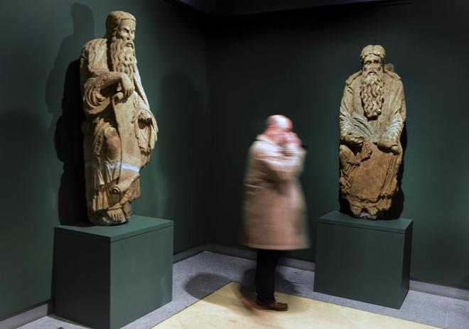 O Diario Oficial de Galicia publica a declaración BIC das nove estatuas do Mestre Mateo procedentes da Catedral de Santiago