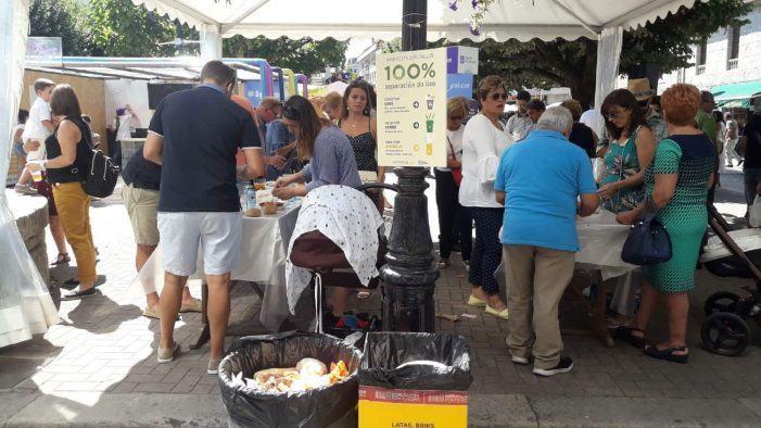 O 'Revitaliza' compostará preto de 1.000 litros de lixo orgánico da Festa dos Callos de Salceda