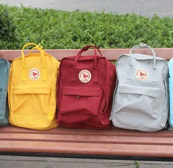 Las mochilas de moda tienen marca sueca