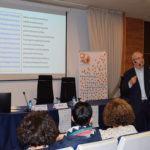 Fernando Navarro presenta no campus a plataforma especializada en tradución médica Cosnautas