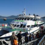 La línea regular marítima de pasajeros Cangas-Vigo ajusta sus horarios