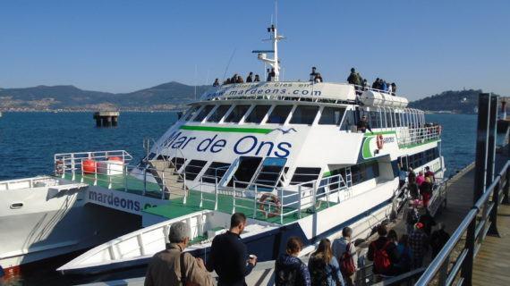 Mar de Ons organiza viaxes a Cíes e San Simón durante a ponte de novembro