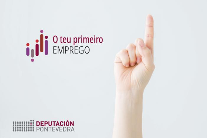 """Preto de 200 mozas e mozos terán un contrato en prácticas en empresas da provincia co programa da Deputación de Pontevedra """"O teu primeiro emprego"""""""