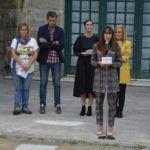 """As artistas de """"Camiño a dentro"""" dinamizan o Camiño Portugués con novas accións en Caldas de Reis e no Porriño"""