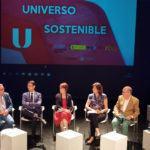 As profesoras África González, Beatriz Comendador e Lola Dopico participan na segunda tempada de 'Universo Sostenible' que emite TVE2
