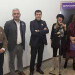 """A Deputación de Pontevedra inicia a súa presenza na feira Culturgal coa performance """"A última cea"""" da artista Uxía Morán"""