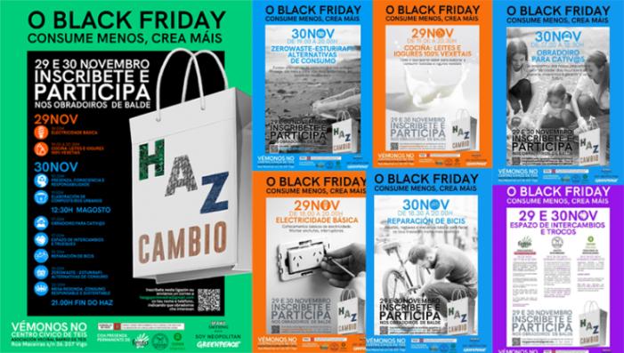 Greenpeace organiza en Vigo unhas xornadas alternativas ao 'Black Friday'