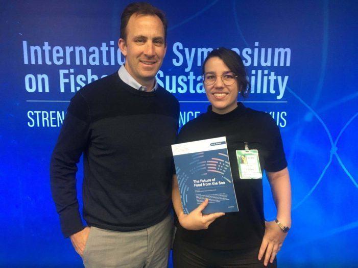 Elena Ojea, única científica española que participa no informe sobre alimentación sostible nos océanos para o High Level Panel for a Sustainable Ocean Economy