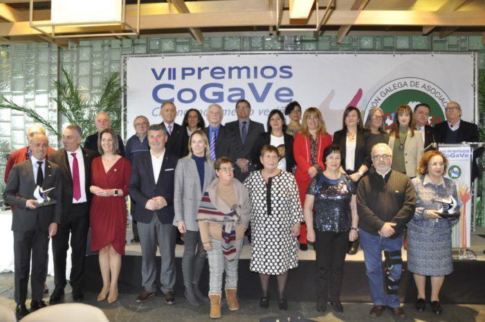 Entregados los VII Premios  de la Confederación Galega de Asociacións Veciñais  Rosalía de Castro