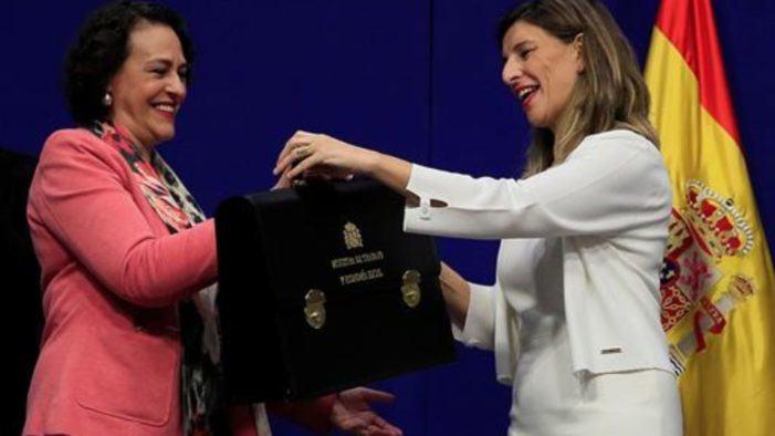 """Yolanda Díaz: """"Frente a la precariedad, trabajo decente"""""""